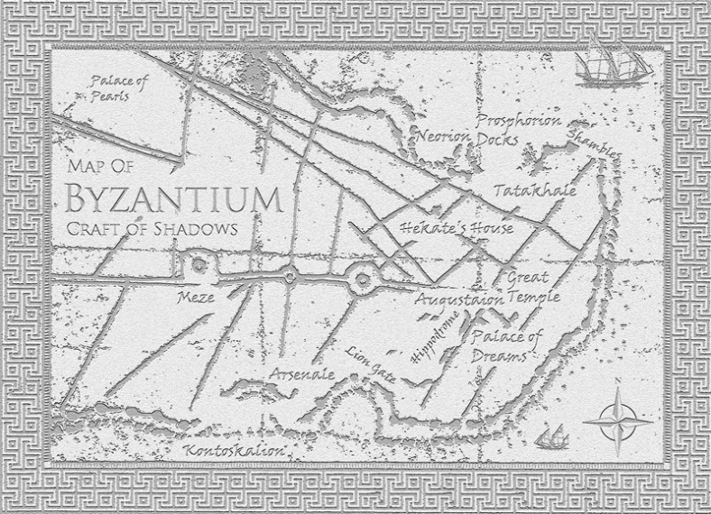 Map of Byzantium - Craft of Shadows: God of Thieves